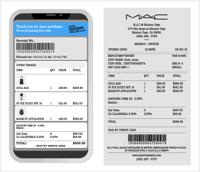 Receipt scanning can be of immense value for brands and manufacturers