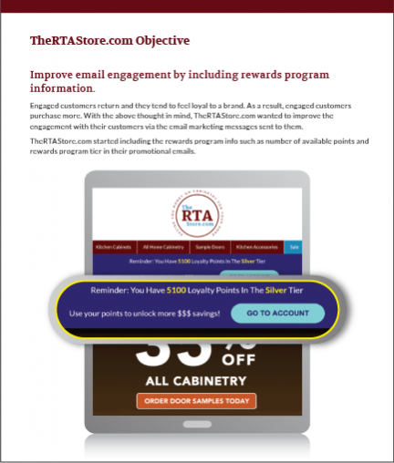 The RTA Store Objective case study