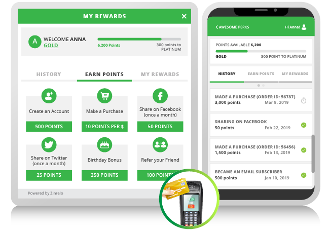 Omni-Channel Ecommerce- Brick & Mortar- Phone App- by Zinrelo