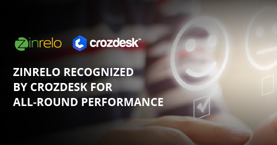 Zinrelo Recognized by Crozdesk For All-Round Performance