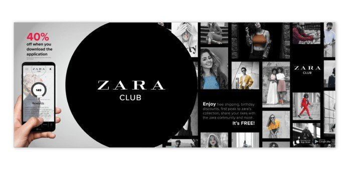 Zara Club loyalty program
