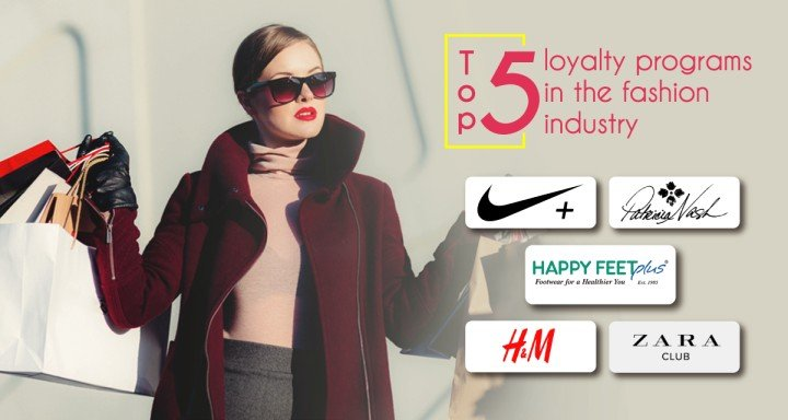 Top 5 loyalty programs in the fashion industry
