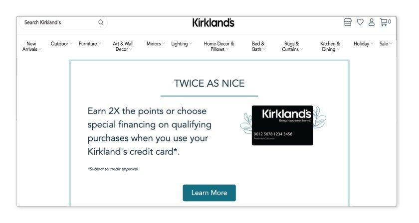 K Club Rewards – Kirkland's