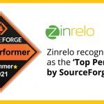 Zinrelo recognized as the 'Top Performer' by SourceForge